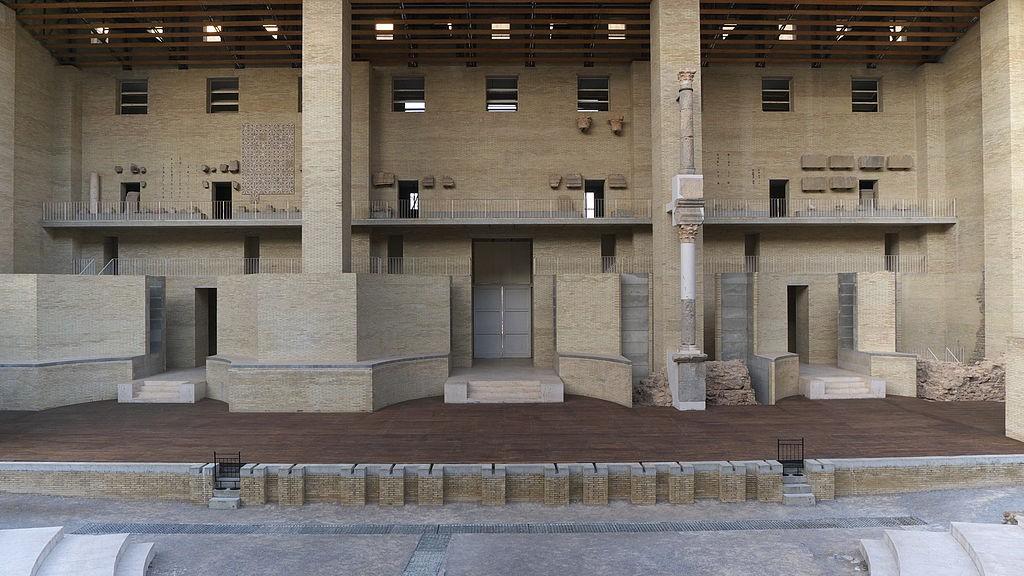 The Stage of the Roman Amphitheatre in Sagunto   ©José Luis Filpo Cabana/Wikicommons
