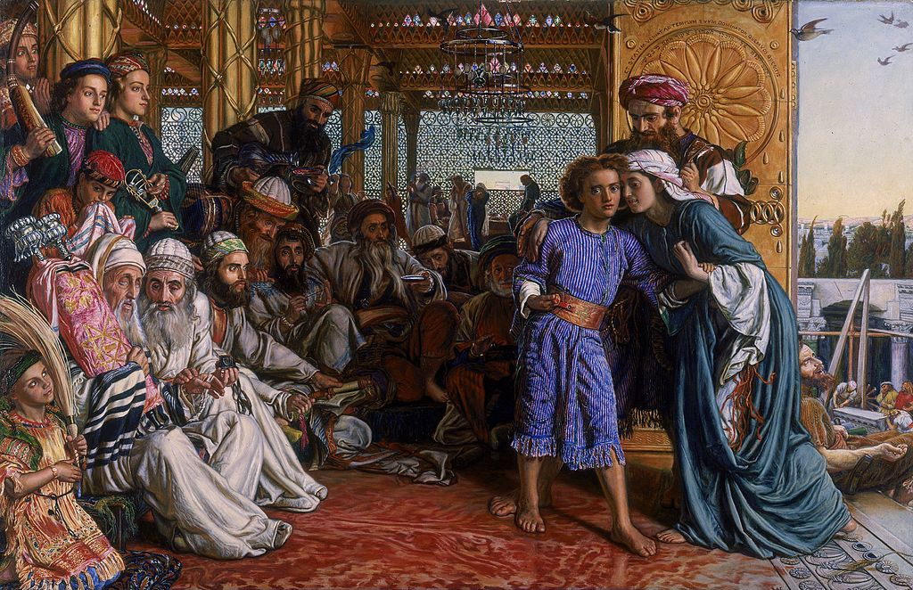 William Holman Hunt, The Finding of the Savior in the Temple, 1860 | ©Birmingham Museum and Art Gallery/WikiCommons