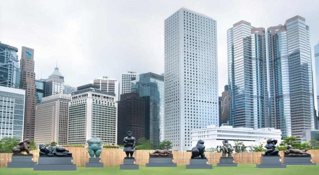 © Photo courtesy of Botero In Hong Kong / Parkview Art