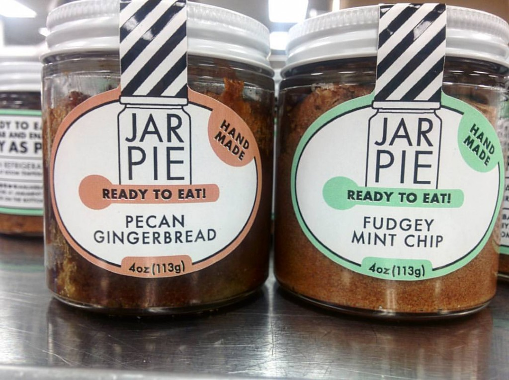 Pegan Gingerbread & Fudgey Mint Chip | Courtesy of Jam Jar Bakery