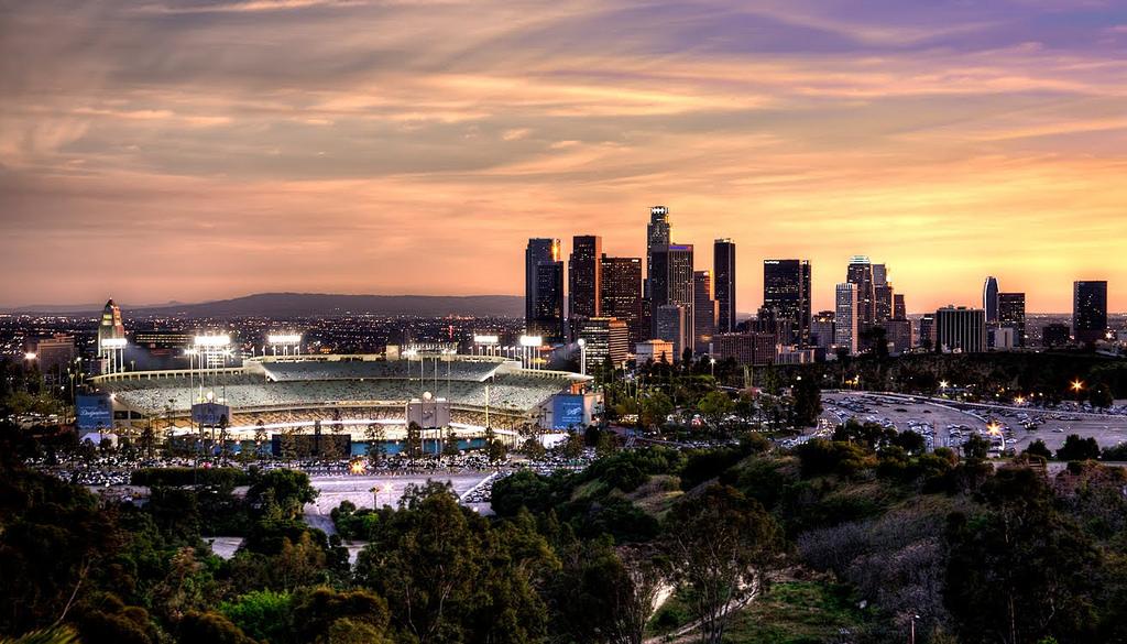 Los Angeles Dodger Stadium © Corona/Flickr.com