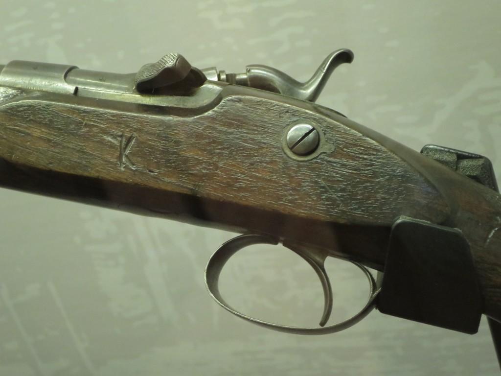 Ned's favourite rifle, 'Betty' © Lu Barnham