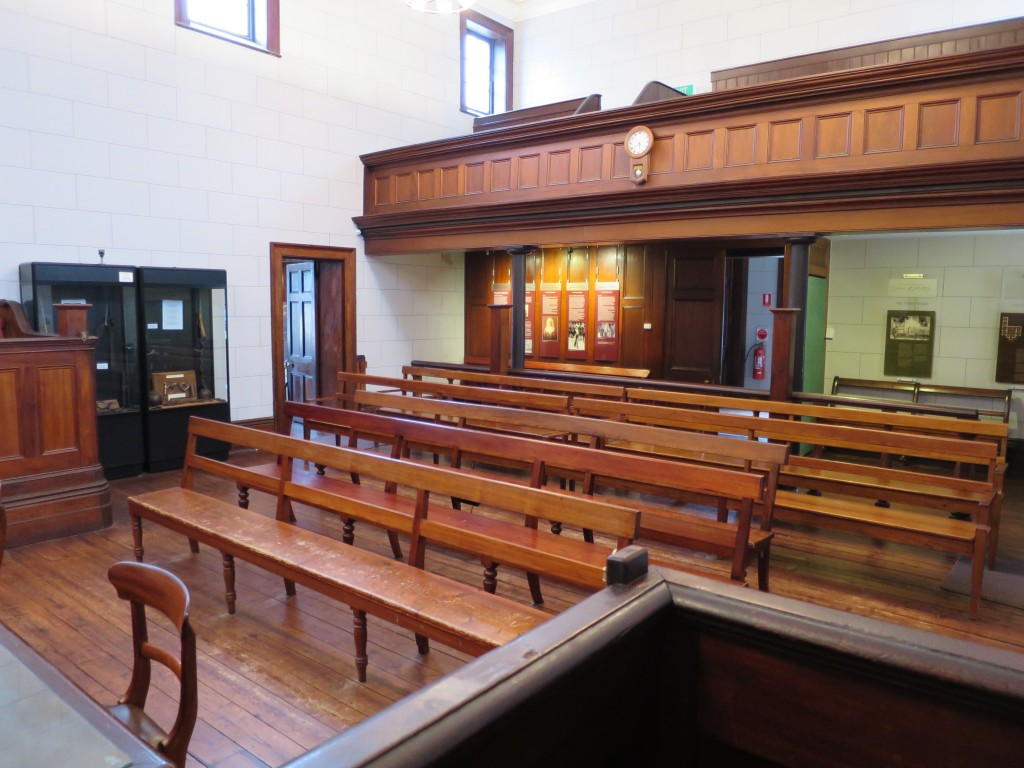 View From the Dock, Beechworth Courthouse © Lu Barnham