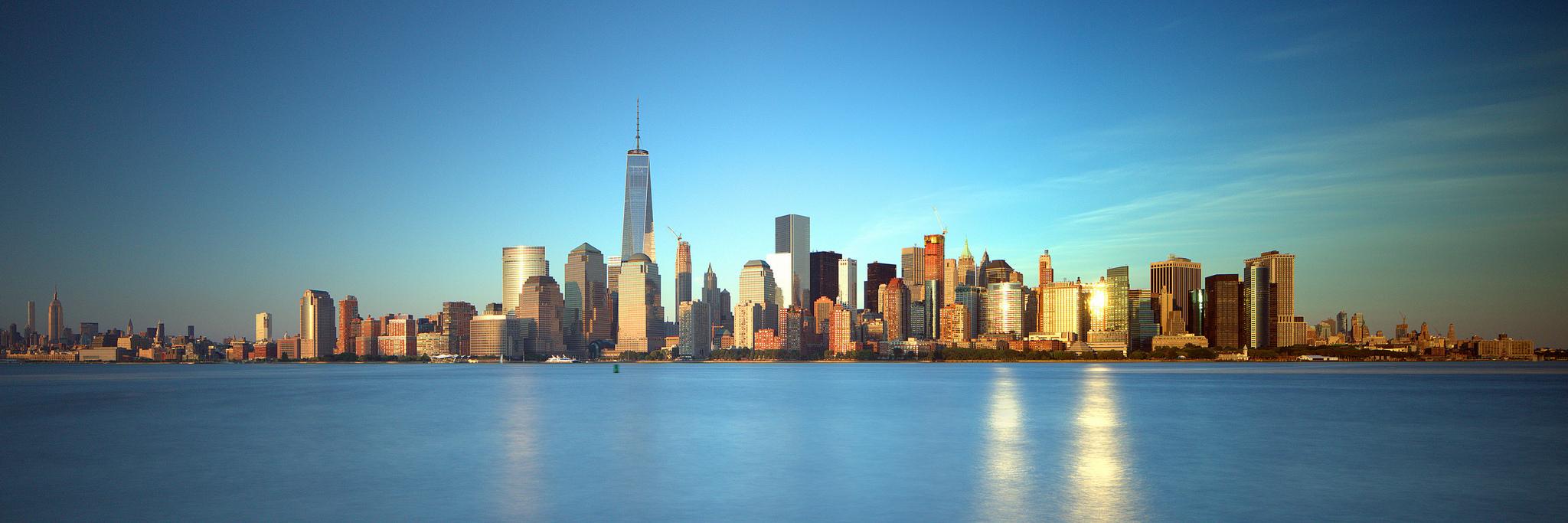 Manhattan from Liberty State Park, NJ, golden hour | © John Cunniff/Flickr