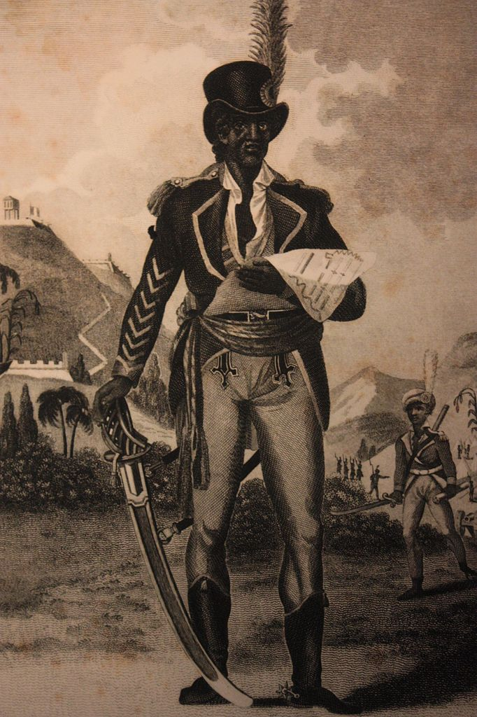 19th century engraving of L'Ouverture | © Stephencdickson/WikiCommons