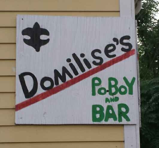 Courtest of Domilise's Po-Boy and Bar