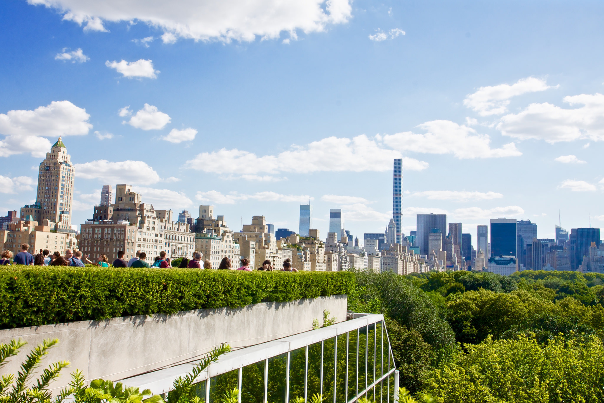View of Central Park from The Met's Rooftop | © Lydia Liu/Flickr