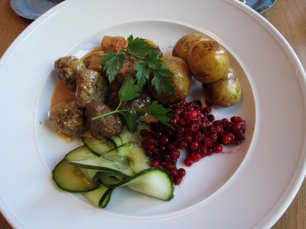Swedish meatballs | Bosc d'Anjou/Flickr