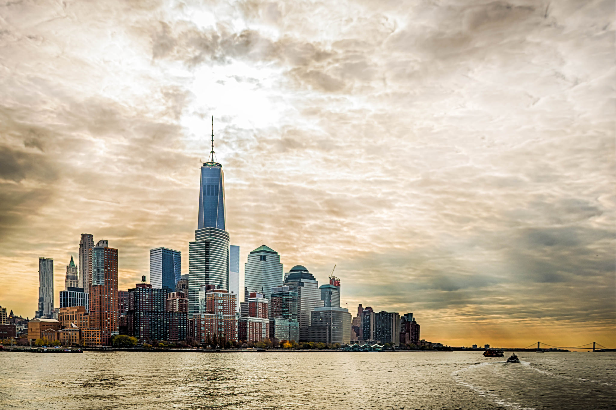 Lower Manhattan - Viewed From Hudson River | © Jody Claborn/Flickr