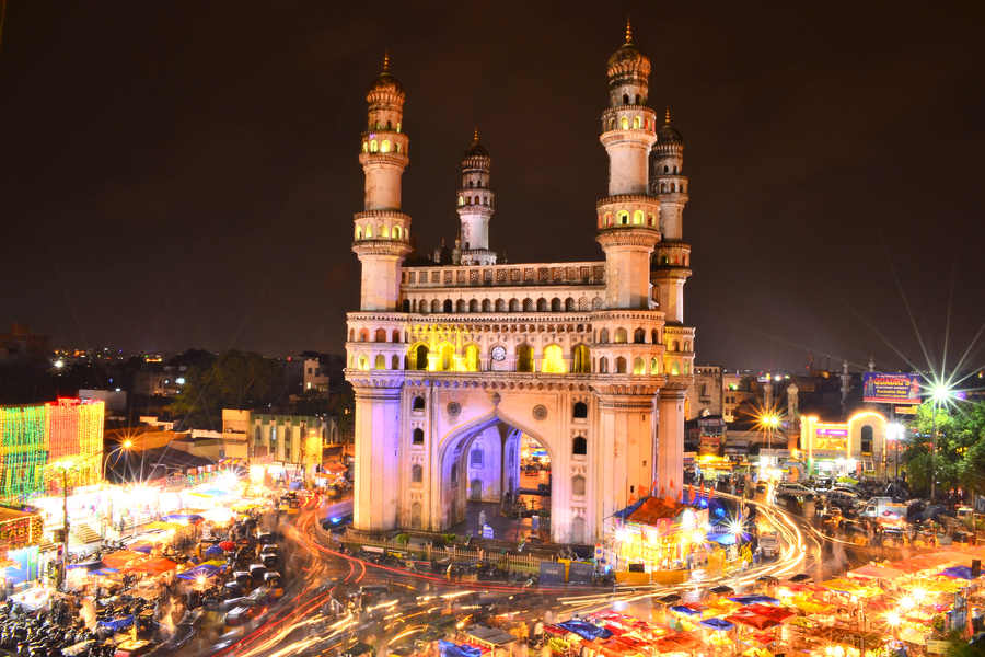 The History Of The Charminar, Hyderabad In 1 Minute