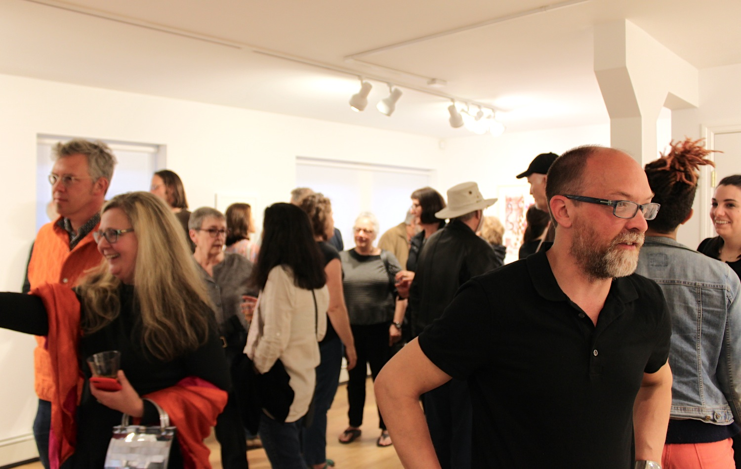Gabe Brown Opening at Matteawan Gallery during Beacon Arts' Monthly Second Saturday Event | Image Courtesy of Matteawan Gallery