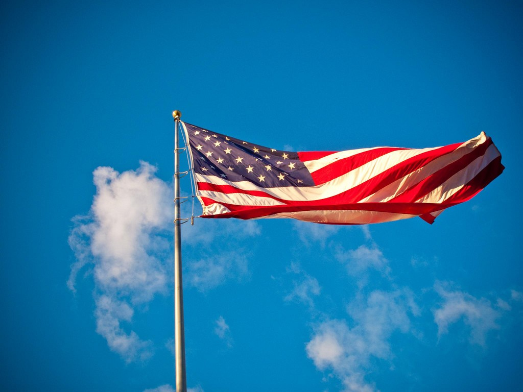 American Flag | © Anna Fox/Flickr