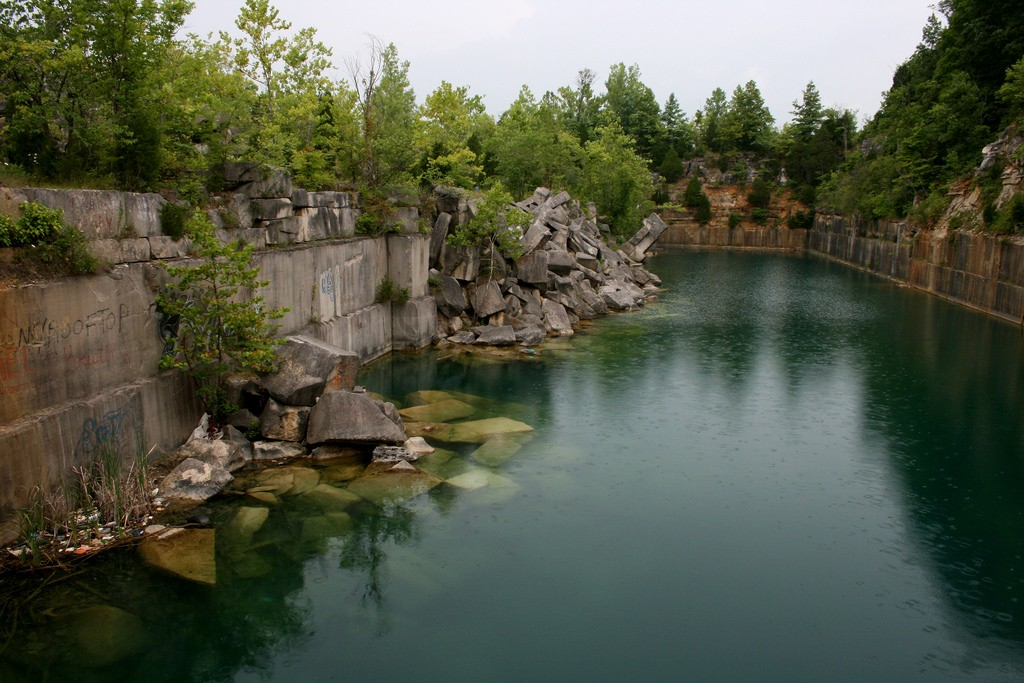 A southern Indiana quarry | © Eli Duke/Flickr