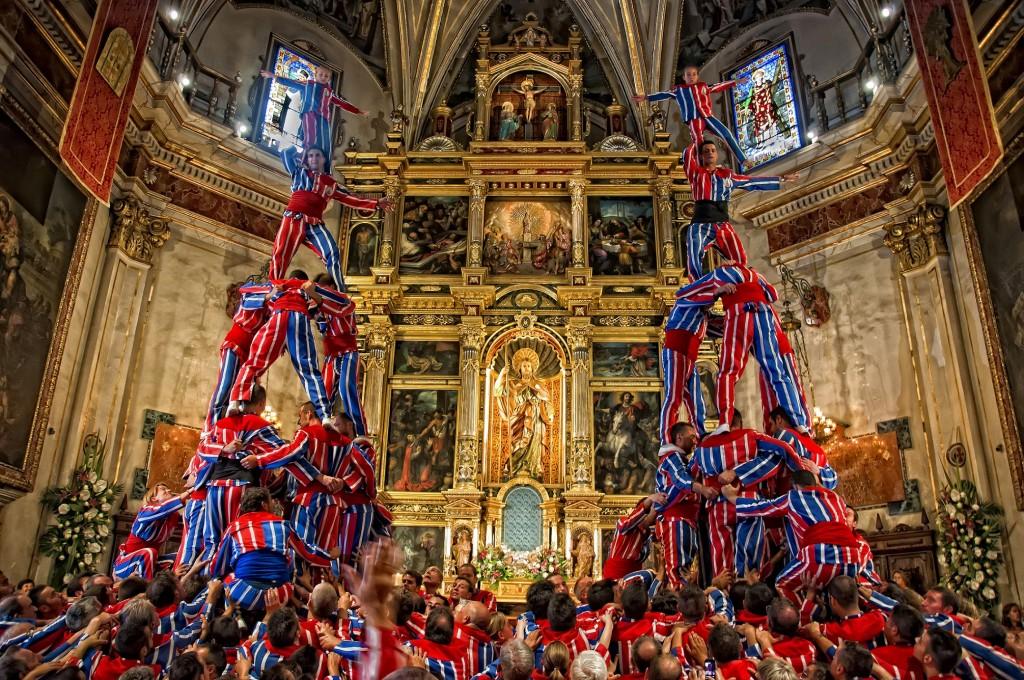 La muixeranga d'Algemesí | Courtesy of El Museu Valencià de la Festa d'Algemesí