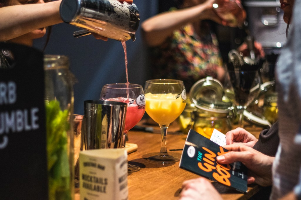 Cocktails | Courtesy of Gin Festival