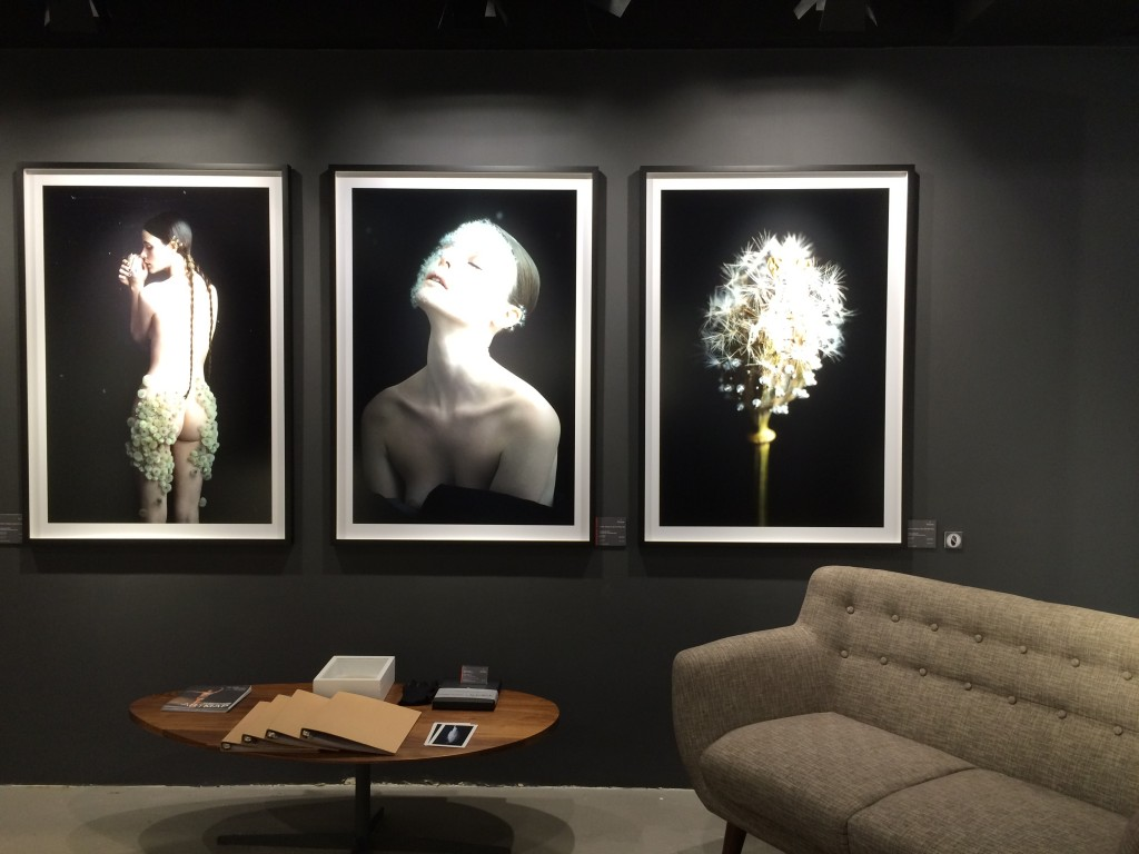 [From left to right] Dandelion #0, Dandelion #07, Dandelion #06 by Duy Anh Nhan Duc at La Galerie Paris 1839 | ©small.people.big.world/instagram