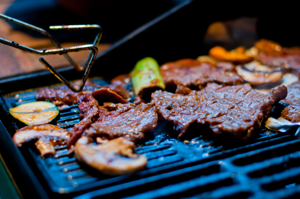 Korean BBQ | © Thomas sauzedde/Flickr
