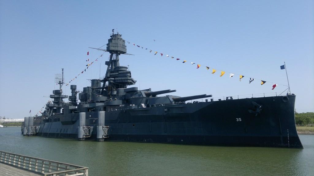 Battleship Texas | © Al Pavangkanan/Flickr