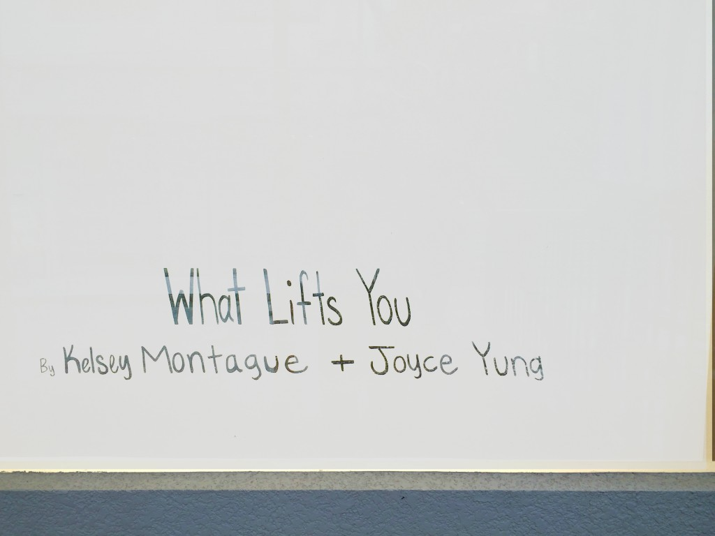 What Lifts You, collaborative exhibition by Kelsey Montague and Joyce Yung at Art Supermarket | ©small.people.big.world/instagram