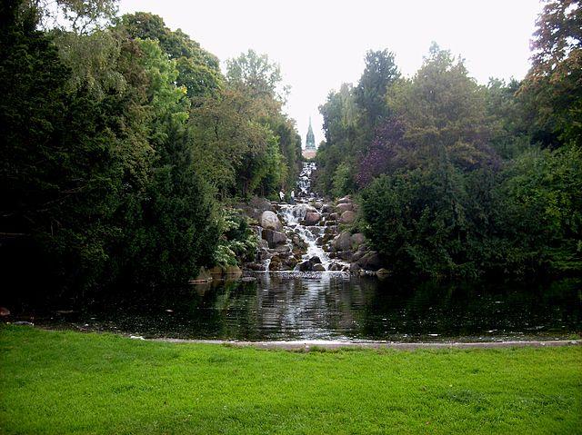 By Jwaller - Cascade in Viktoriapark in Berlin-Kreuzberg