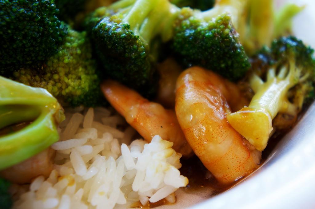 shrimp and broccoli | © Brad.K/Flickr