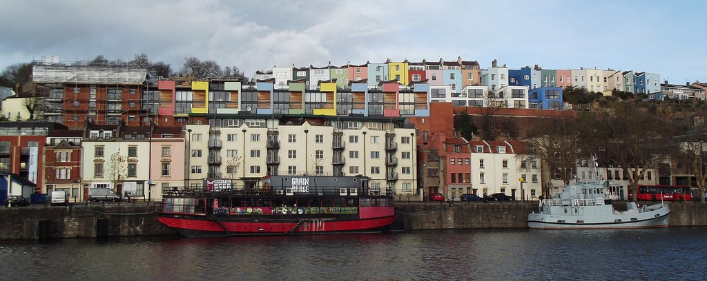 Bristol Harbour and the Grain Barge | © James Clark / Flickr