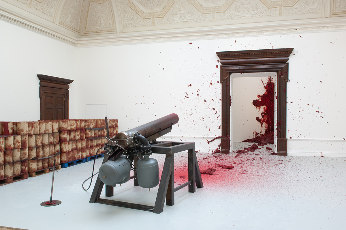 Anish Kapoor Exhibition at Royal Academy, 2009