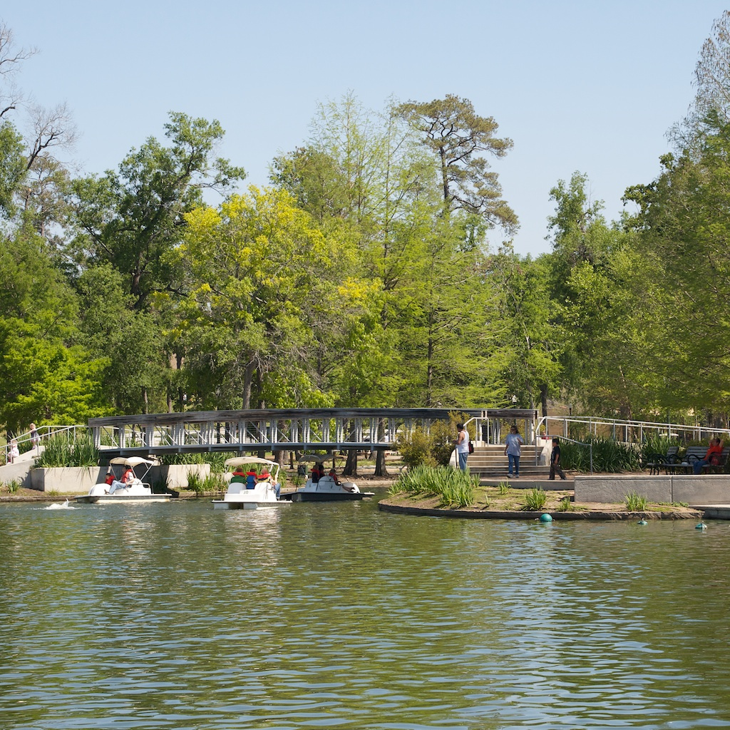 Hermann Park Boats | © Ed T/Flickr
