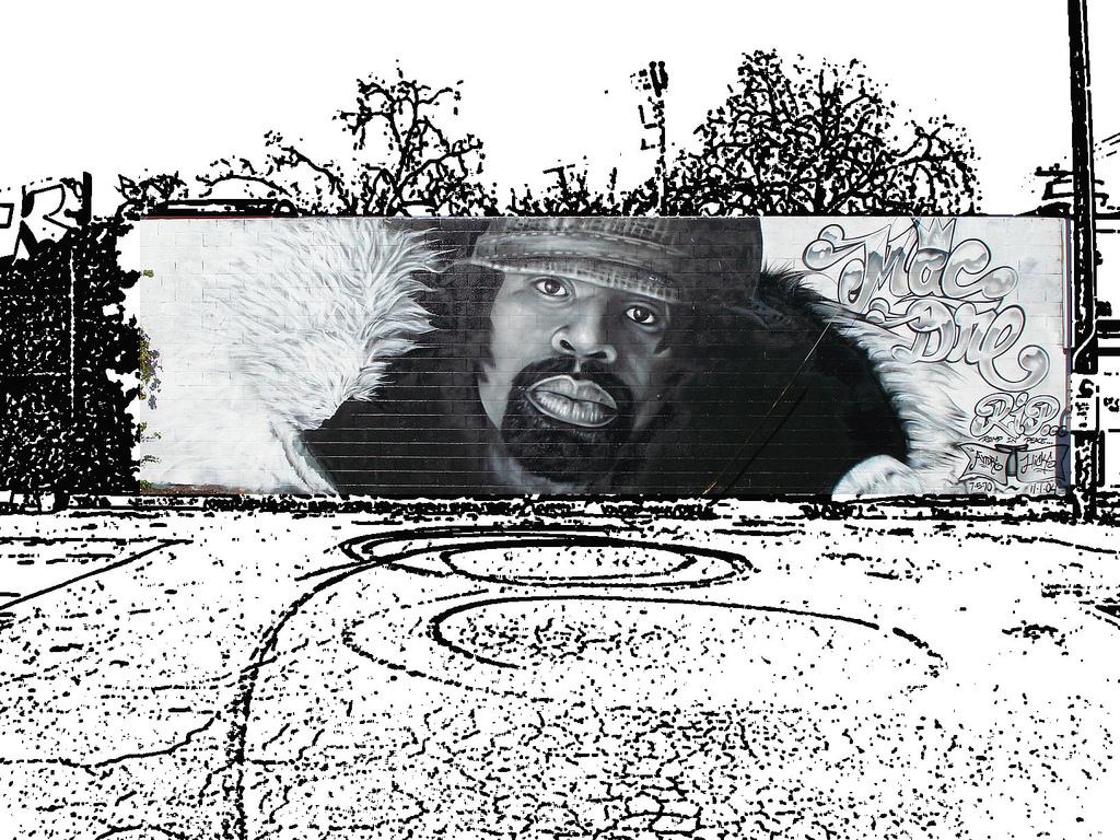 Mac Dre Graffiti Art | © A Syn/Flickr