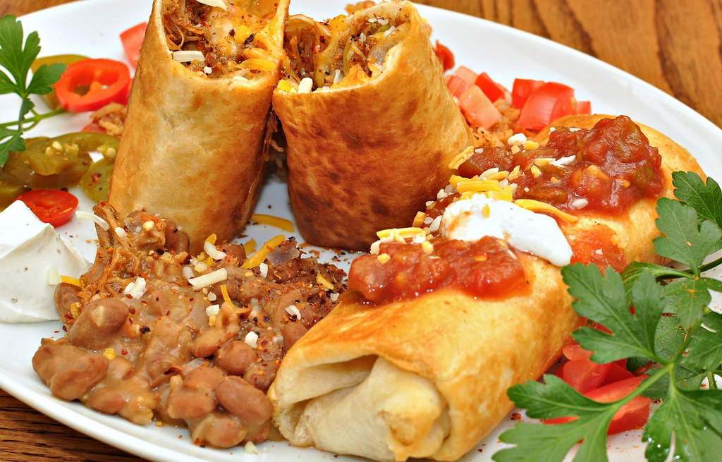 Chimichanga | © jeffreyw/Flickr