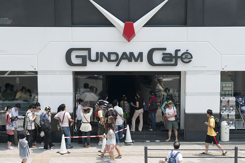 800px-GUNDAM_Café,_Akihabara,_2010-07-24