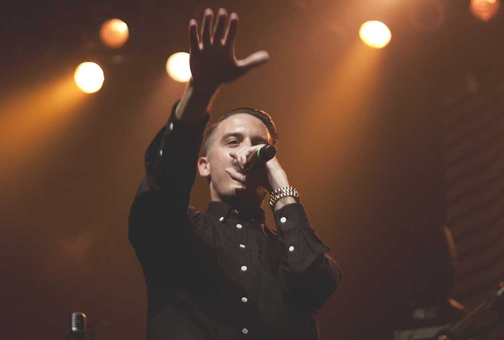 G-Eazy performing live © Tiffany Ronquillo/Flickr