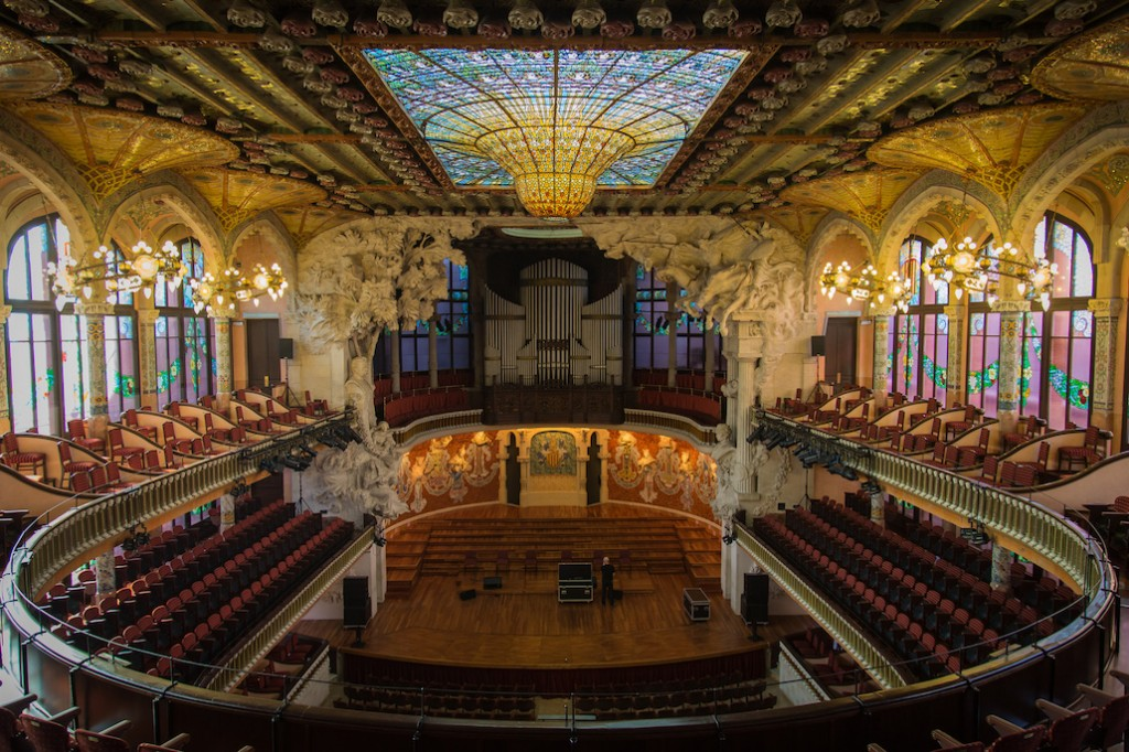 The Palau de la Música Catalana   © Paulo Valdivieso / Flickr