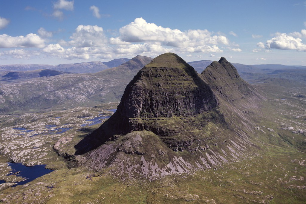Suilven, Inverpolly, Scotland © Adrian Warren and Dae Sasitorn