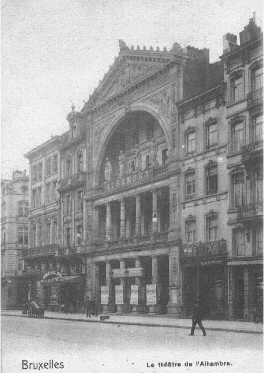 Alhambra Theatre in 1904 © Andreas Stynen/Wikicommons