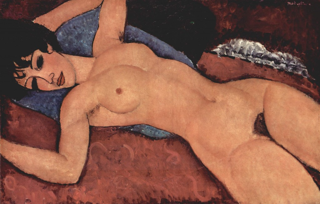 Reclining Nude |©The Yorck Project/Wikicommons