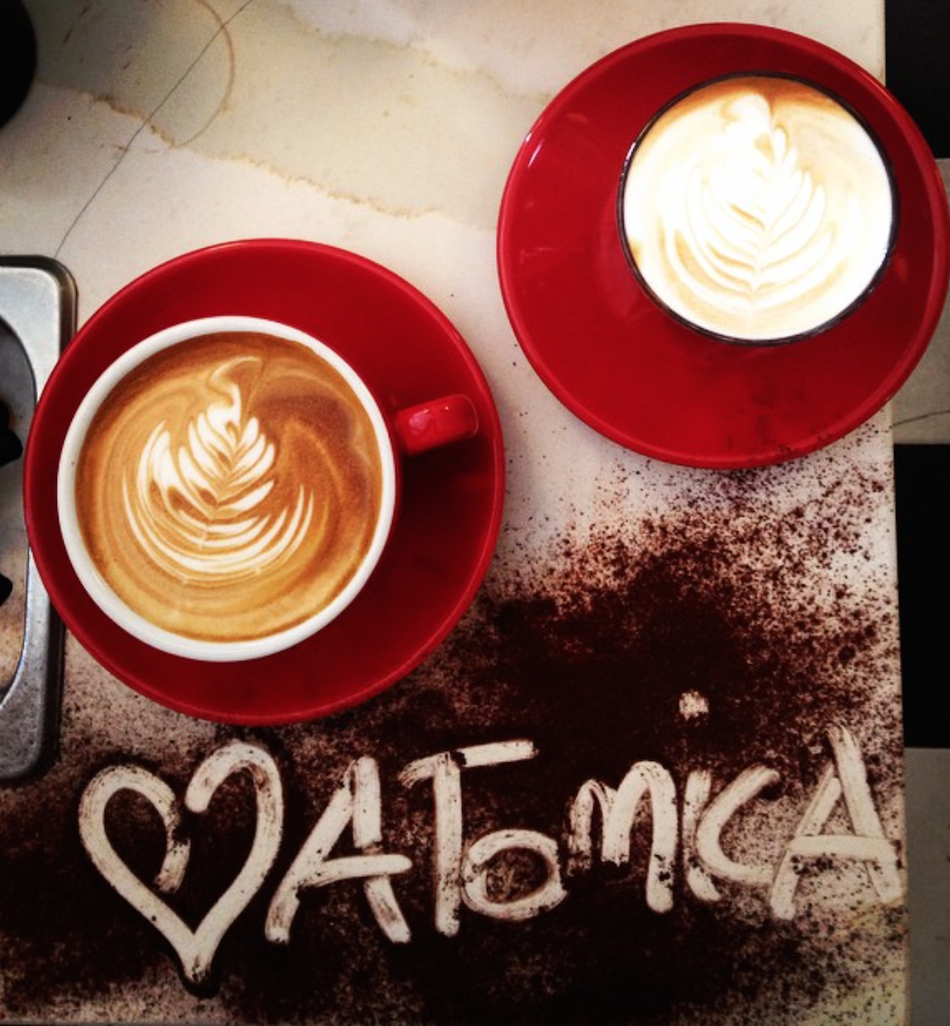 Atomica loves great coffee as much as Melburnians. Image courtesy of Atomica.
