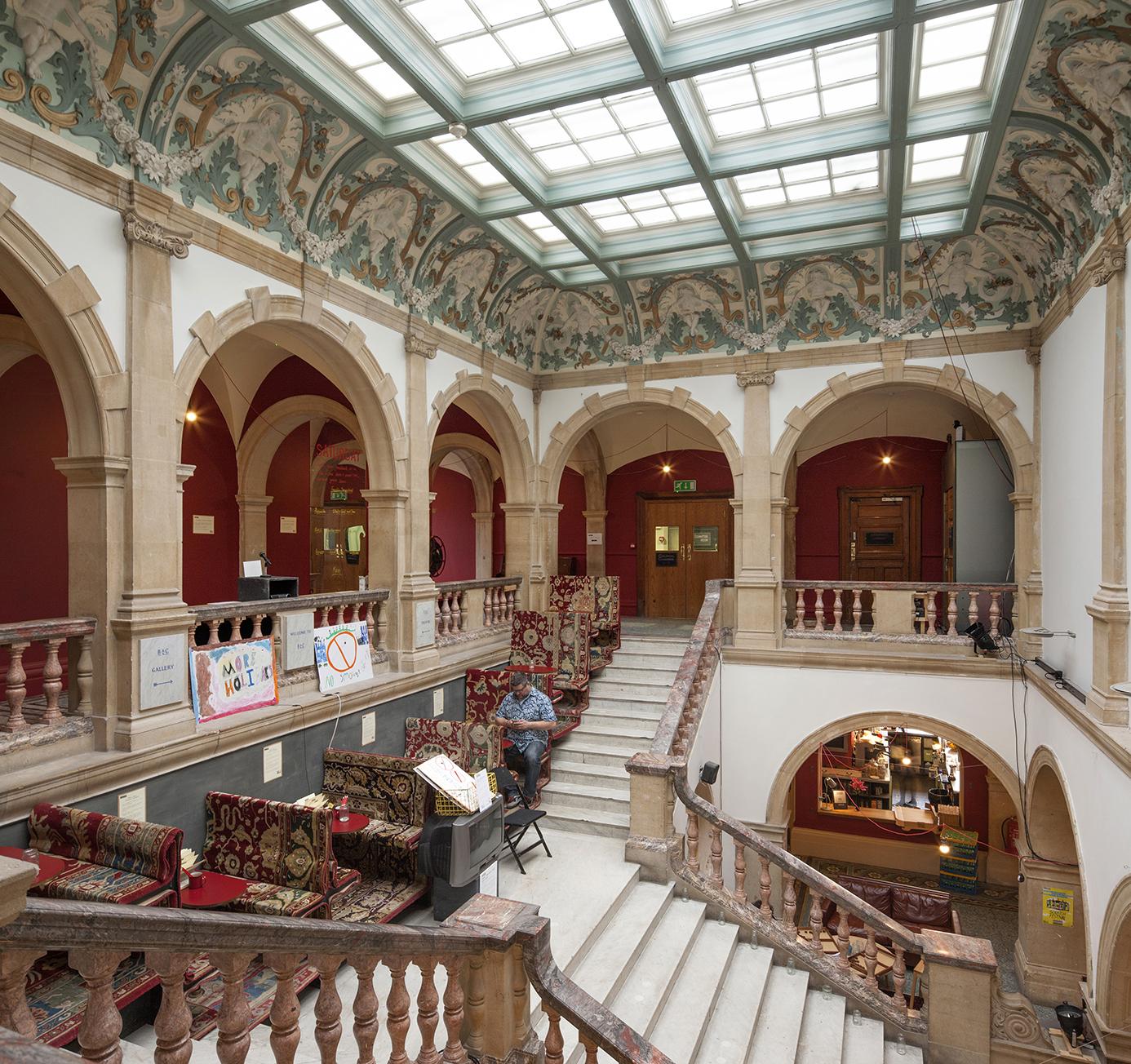 Battersea Arts Centre, Marble Stairs| ©Morley Von Sternberg/Courtesy of Battersea Arts Centre