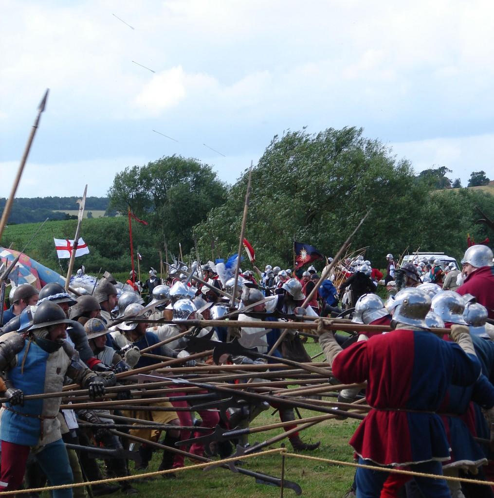 Battle of Tewkesbury Re-enactment | Courtesy of Tewkesbury Medieval Festival