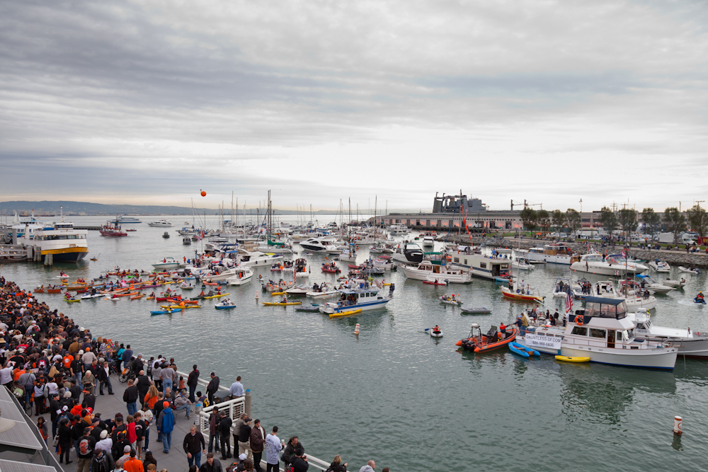 McCovey Cove during a Giant's game | © randychiu/Flickr