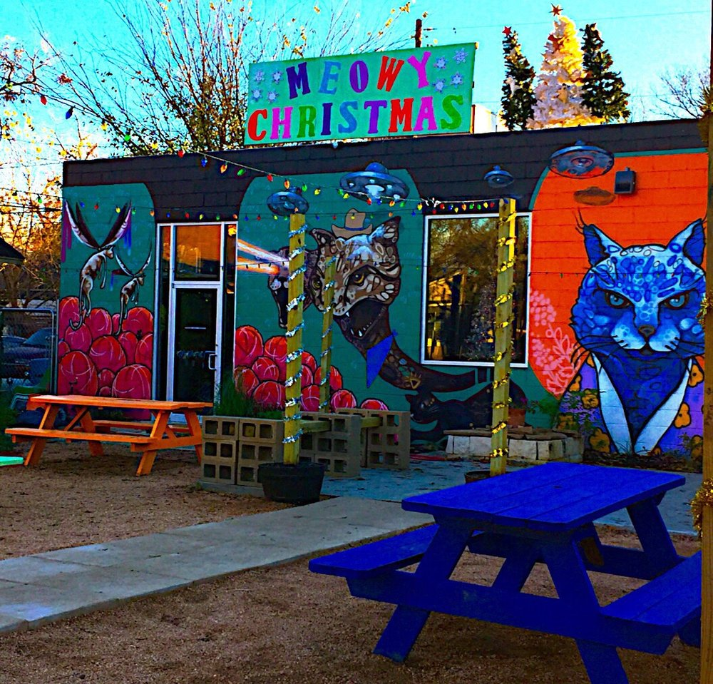 Blue Cat Cafe Exterior | Courtesy of Errol M. from Yelp