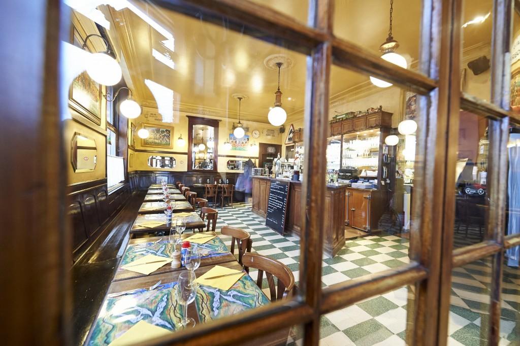 The charming interior of Brasserie de la Gare | Courtesy of Brasserie de la Gare