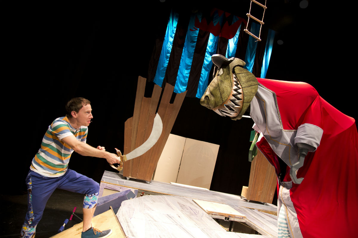Captain Flinn and the Pirate Dinosaurs 2: The Magic Cutlass | Courtesy of Edinburgh Festival Fringe Society, © Graham Lewis