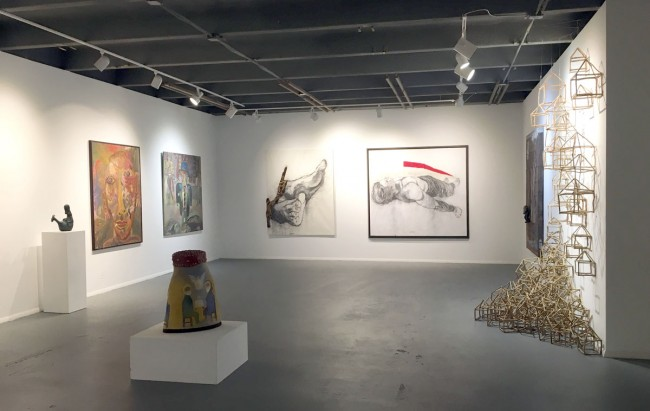 Installation view of A Caribbean Collector's View | Courtesy of Pan American Art Projects