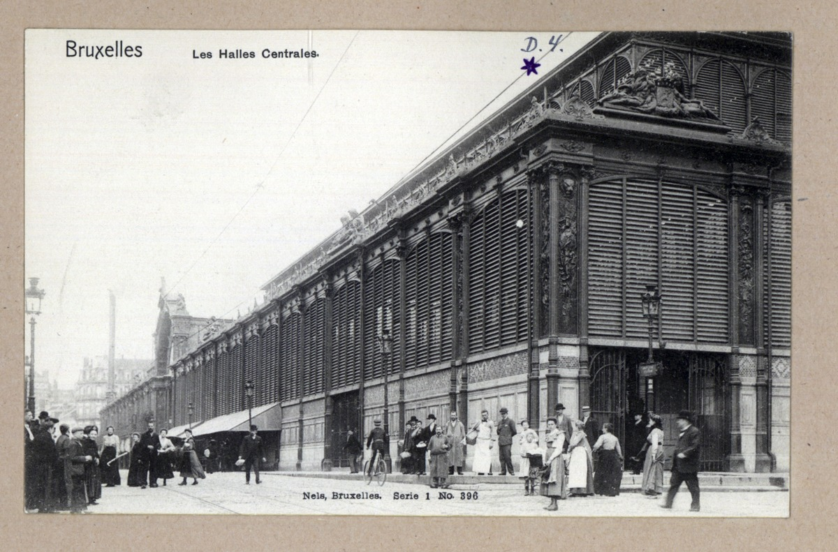 The Halles Centrales built in 1872-1874|© Europeana/Wikicommons