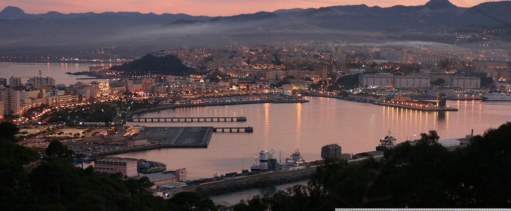 View of Ceuta from the Monte Hacho|©Víctor Fernández Salinas/Wikicommons