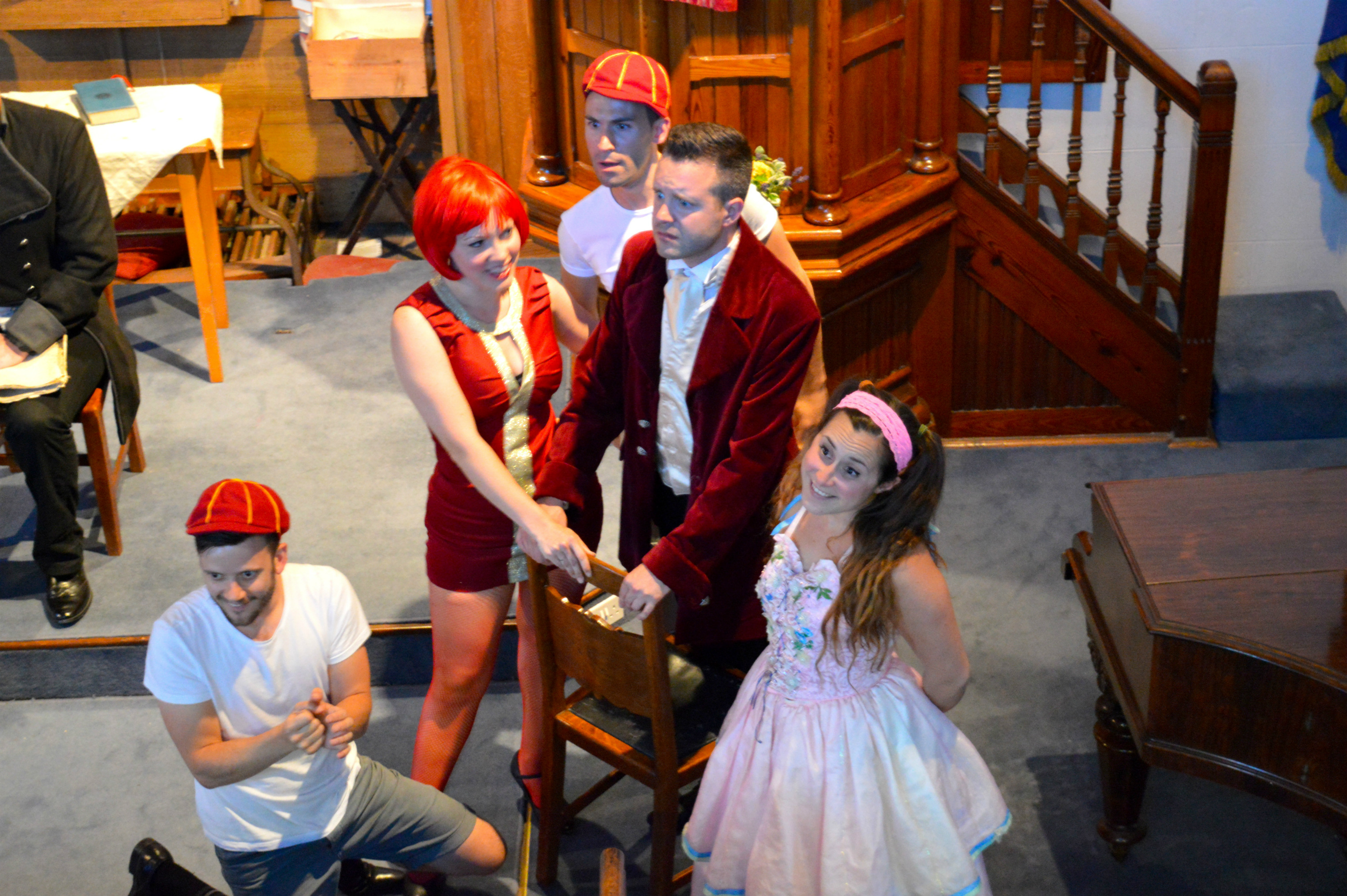 'Off with his Head!' | Courtesy of Oxford Music Theatre