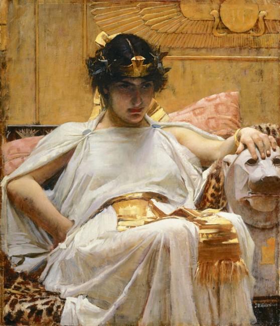 Cleopatra by John William Waterhouse (1888) / WikiCommons