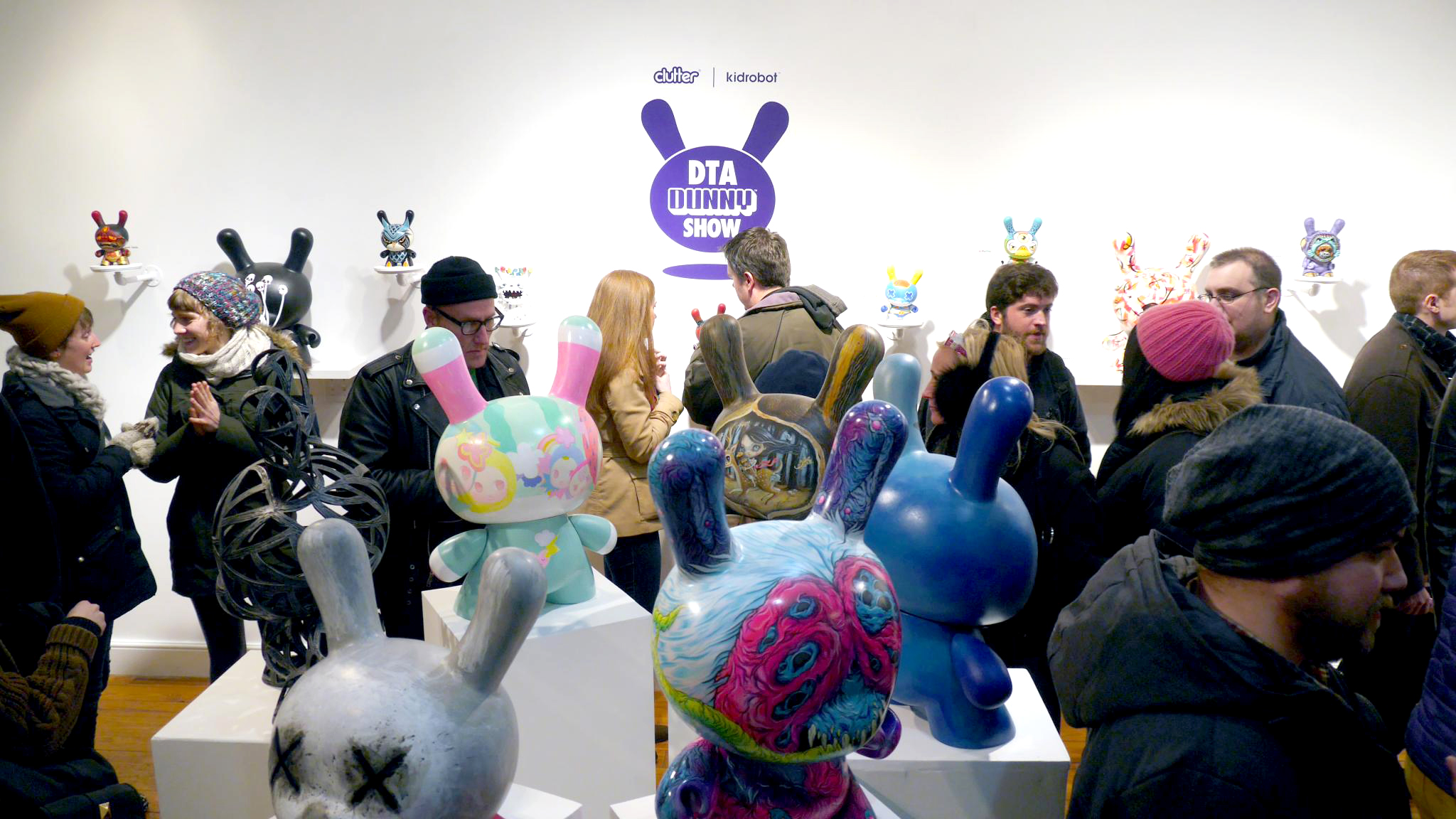 The DTA Dunny Show at Clutter Gallery | Image Courtesy of Clutter Gallery