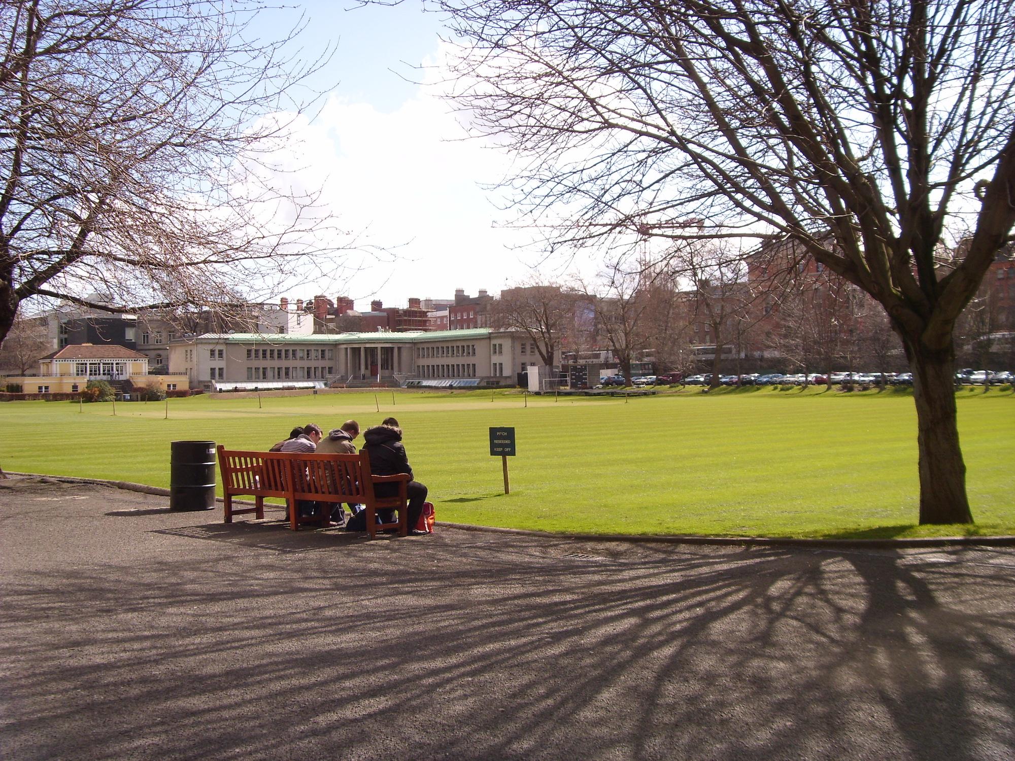 College Park, Trinity College | © Niaz / WikiCommons